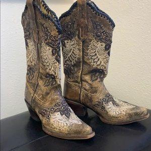 Gorgeous ladies Corral boots, size 7 EUC